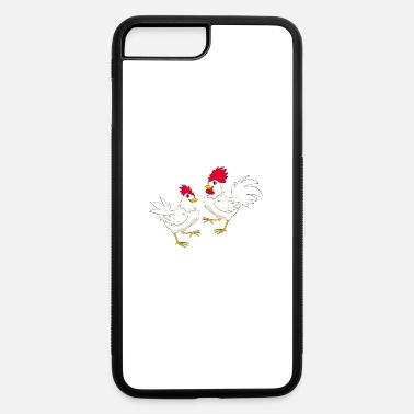 Nice Cock Rooster chicken kock Domestic bird poultry pet - iPhone 7 & 8 Plus Case