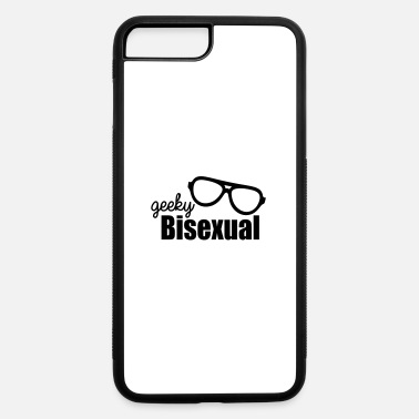 Geeky Humor Geeky Bisexual LGBT Pride - iPhone 7 & 8 Plus Case