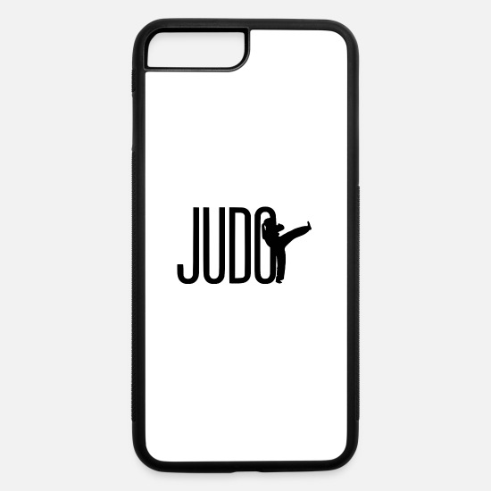 Martial Arts iPhone Cases - judo illu - iPhone 7 & 8 Plus Case white/black