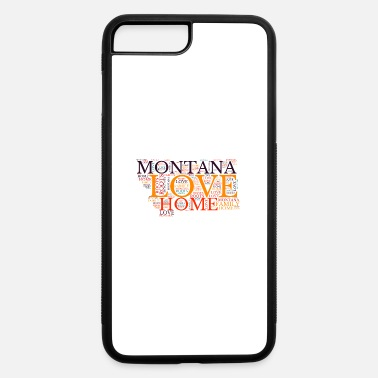 Montana State Montana State Map, United States - iPhone 7 & 8 Plus Case