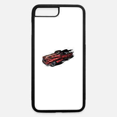 80kingz flaming_hotrods - iPhone 7 & 8 Plus Case