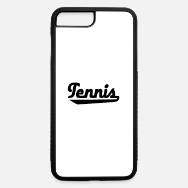 Font tennis font - iPhone 7 Plus/8 Plus Rubber Case