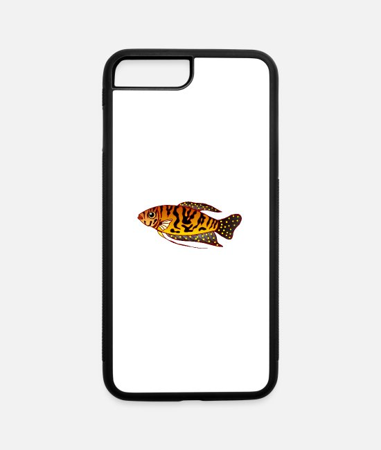 Tropical Fish iPhone Cases - Fish Tropical - iPhone 7 & 8 Plus Case white/black
