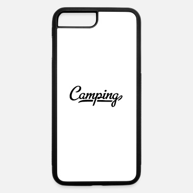 Font camping font - iPhone 7 Plus/8 Plus Rubber Case