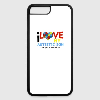 Aspergers Syndrome Autism Awareness - iPhone 7 Plus/8 Plus Rubber Case