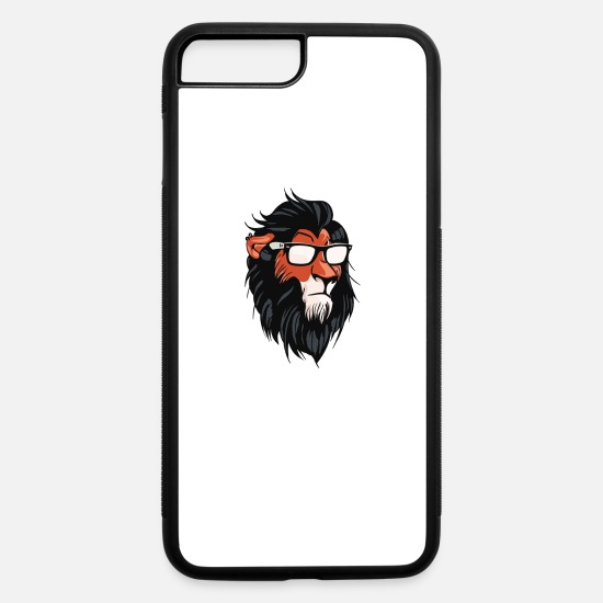 Scar iPhone Cases - Lion Cool Summerish Scar Cyber System - iPhone 7 & 8 Plus Case white/black