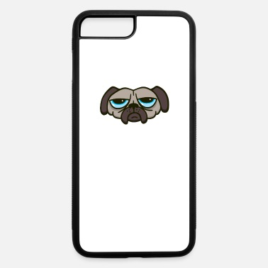 Unhappy Unhappy Pug - iPhone 7 & 8 Plus Case