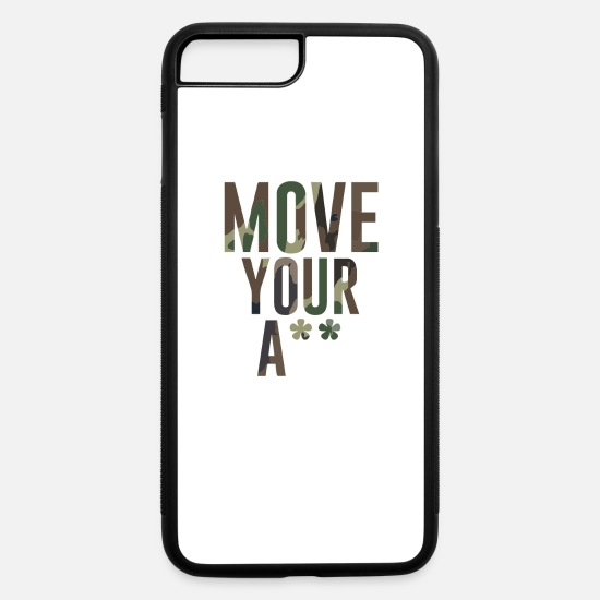 Movers iPhone Cases - Move Your A - iPhone 7 & 8 Plus Case white/black