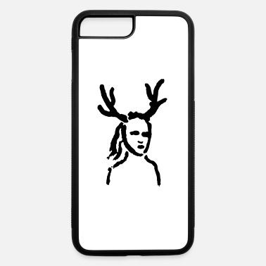 Antler Antler Girl - iPhone 7 Plus/8 Plus Rubber Case