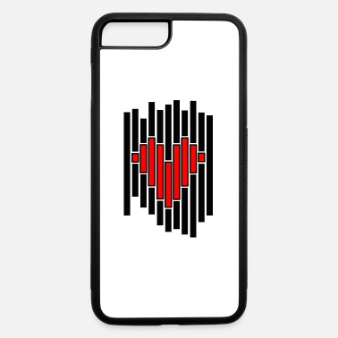 Pixel Heart Pixel - iPhone 7 & 8 Plus Case