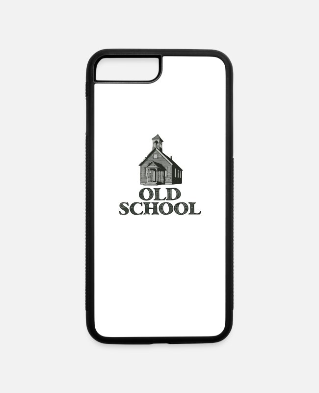 Movie iPhone Cases - Old School - iPhone 7 & 8 Plus Case white/black