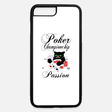 Poker Passion Poker Cat Championchip is my passion -Gamershirt - iPhone 7 & 8 Plus Case