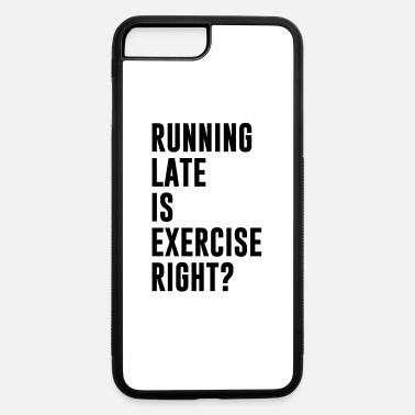Lats Running lat eis exercise - iPhone 7 & 8 Plus Case