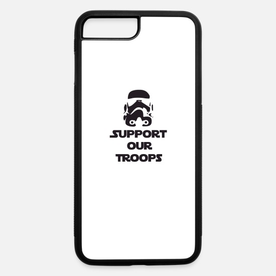 Game iPhone Cases - Support our Troops - iPhone 7 & 8 Plus Case white/black