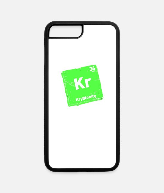 Movie iPhone Cases - Element of Kryptonite - iPhone 7 & 8 Plus Case white/black