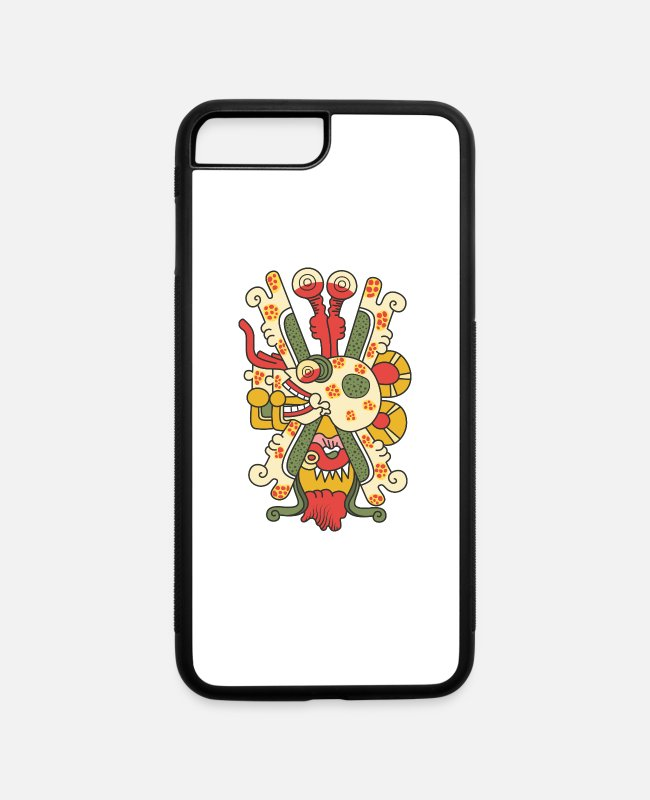 Design iPhone Cases - Aztec Skull Graphic - iPhone 7 & 8 Plus Case white/black