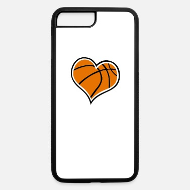 A Heart For A Heart for Basketball - iPhone 7 & 8 Plus Case