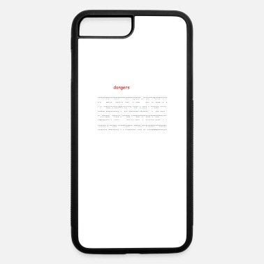 Font Dangerous Font - iPhone 7 Plus/8 Plus Rubber Case