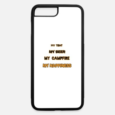 Beer Tent TENT BEER CAMPFIRE - iPhone 7 & 8 Plus Case