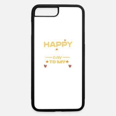 Hardcore happy fathers day to my stepdad - iPhone 7 & 8 Plus Case