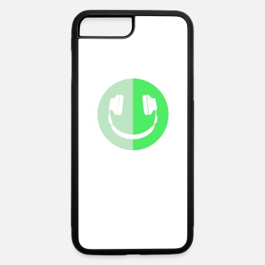 Smiley Headphones Headphone Smiley Logo - iPhone 7 & 8 Plus Case