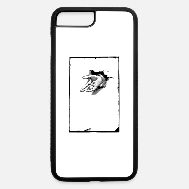 Hindrance Hand punching through page - iPhone 7 & 8 Plus Case