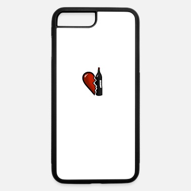 Split Up Breakup Gift TShirt I Heartbreak Divorce Funny - iPhone 7 & 8 Plus Case