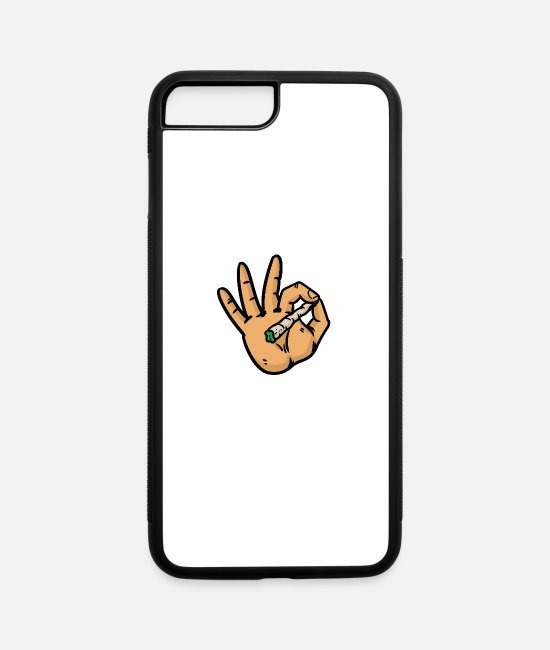 High iPhone Cases - Okay - iPhone 7 & 8 Plus Case white/black