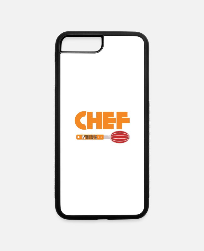Grill iPhone Cases - This chef taker - iPhone 7 & 8 Plus Case white/black
