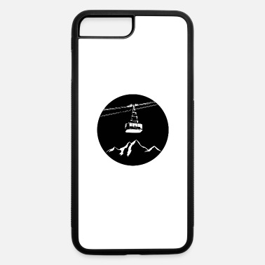 Gondola Mountain with gondola white - iPhone 7 & 8 Plus Case