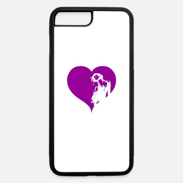 Gogo Gogo Dancer Heart Purple Gift - iPhone 7 & 8 Plus Case