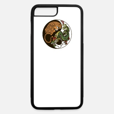Japan &amp Yin yang tiger & dragon - iPhone 7 & 8 Plus Case
