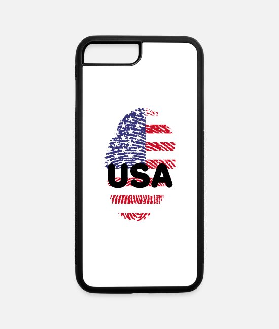 Usa iPhone Cases - united states 650588 1920 je - iPhone 7 & 8 Plus Case white/black