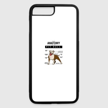 Anatomy Of A PitBull - iPhone 7 Plus/8 Plus Rubber Case