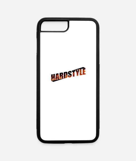 Hardstyle iPhone Cases - Hardstyle - iPhone 7 & 8 Plus Case white/black