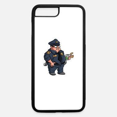 Policeman Fat policeman - iPhone 7 & 8 Plus Case