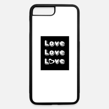 Lovely Love Love Love - iPhone 7 Plus/8 Plus Rubber Case