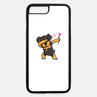 Funny Dab Rottweiler Cute T-Shirt Hoodie - iPhone 7 & 8 Plus Case