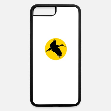 Crane-tech crane and moon - iPhone 7 & 8 Plus Case