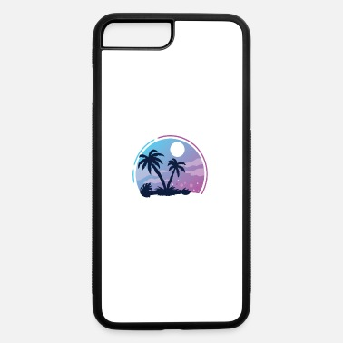 Palm Trees Palm Trees Moon - iPhone 7 & 8 Plus Case