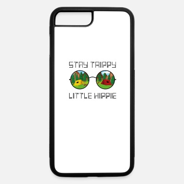 Halloween Stay Trippy Little Hippie Glasses Hippie Camping - iPhone 7 & 8 Plus Case