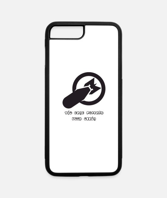 Industry iPhone Cases - Bomb - iPhone 7 & 8 Plus Case white/black