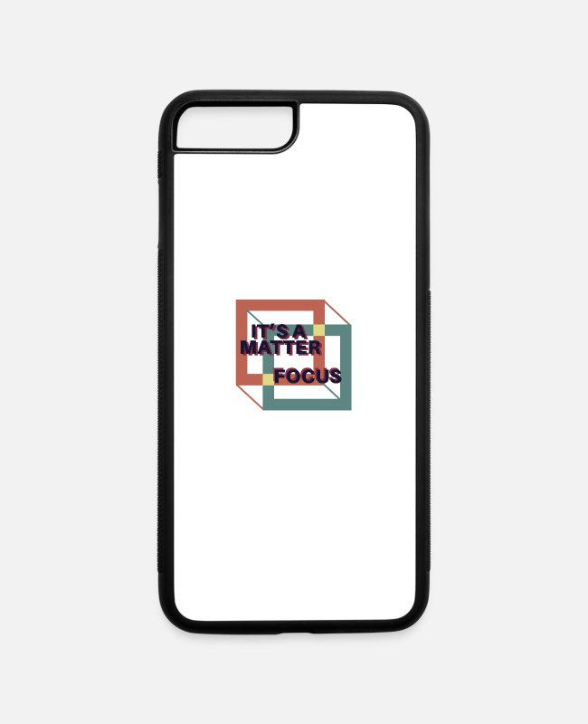 Change The Perspective iPhone Cases - Perspective - iPhone 7 & 8 Plus Case white/black