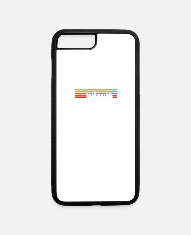 Travel iPhone Cases - Chicago - Never forget your Roots Chicago Illinois - iPhone 7 & 8 Plus Case white/black