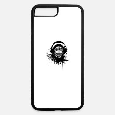 Monkey With Headphone Monkey Headphones - iPhone 7 & 8 Plus Case