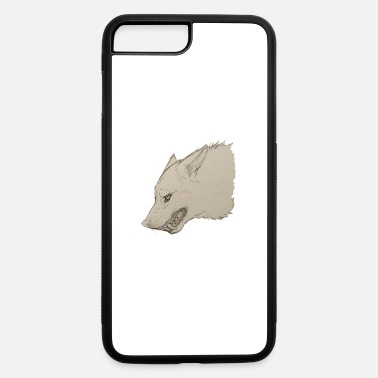 Growling Wolf Lone Wolf - iPhone 7 & 8 Plus Case