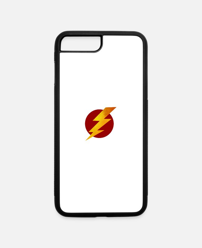 Parafuso iPhone Cases - Lightning Bolt - iPhone 7 & 8 Plus Case white/black