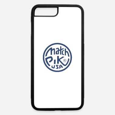 Pik Match Pik USA - iPhone 7 Plus/8 Plus Rubber Case