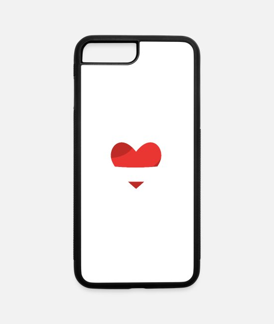 Festival iPhone Cases - I_love_kizomba_fire - iPhone 7 & 8 Plus Case white/black