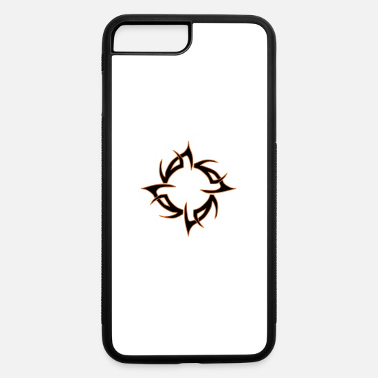 Tribal iPhone Cases - Tribal Design - iPhone 7 & 8 Plus Case white/black